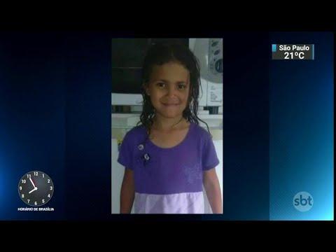Corpo de menina de sete anos violentada e morta é enterrado no RS   SBT Brasil (22/03/18)
