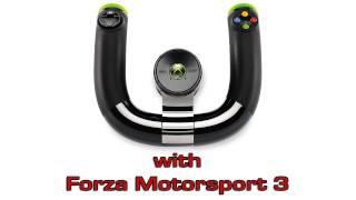 Microsoft  Xbox 360 Wireless Speed Wheel with Forza Motorsport 3