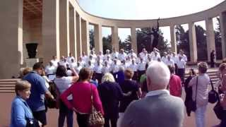 "Video Welsh Male Voice Choir Performs ""Calon Lan"" at The American MilitaryCemetery Normandy 13 Sept 2014 download MP3, 3GP, MP4, WEBM, AVI, FLV Oktober 2018"