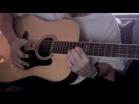 Alvarez AD60-12 12-String Acoustic Guitar Test Play