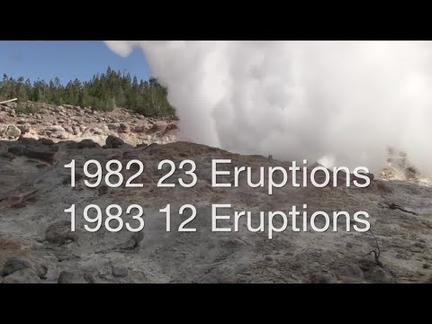 Steamboat Geyser in Yellowstone National Park has erupted 3 times in recent weeks