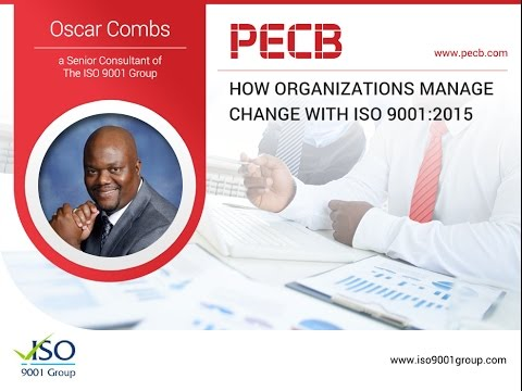 How Organizations Manage Change with ISO 9001:2015