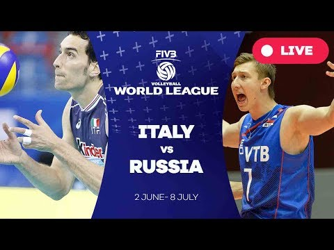 Italy v Russia - Group 1: 2017 FIVB Volleyball World League