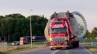 거대 산업시설물 수송작전-볼보트럭편