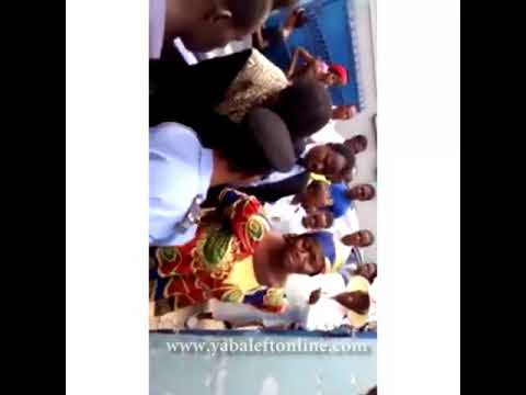 Woman caught on CCTV stealing church members bags at RCCG Lagos Provice 17, New Oko-oba