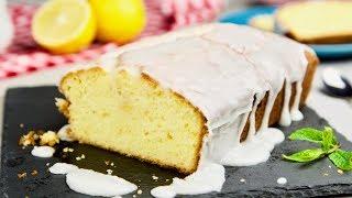 Лимонный пирог (кекс) с лимонной глазурью – АРОМАТ...