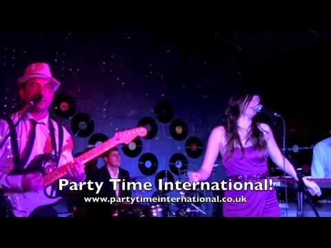 Warwickshire based wedding and events band perform Valerie - Party Time International