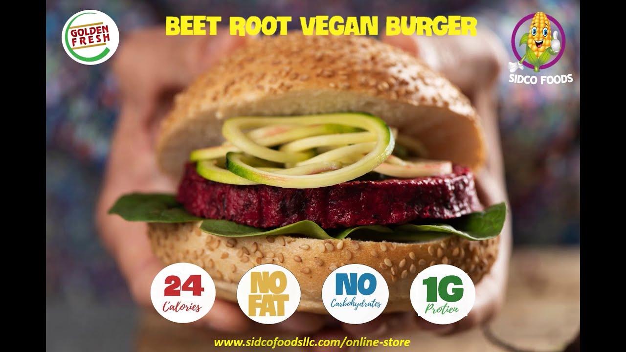 Vegan Burgers Supplier in Dubai, UAE| Sidco Foods Trading LLC
