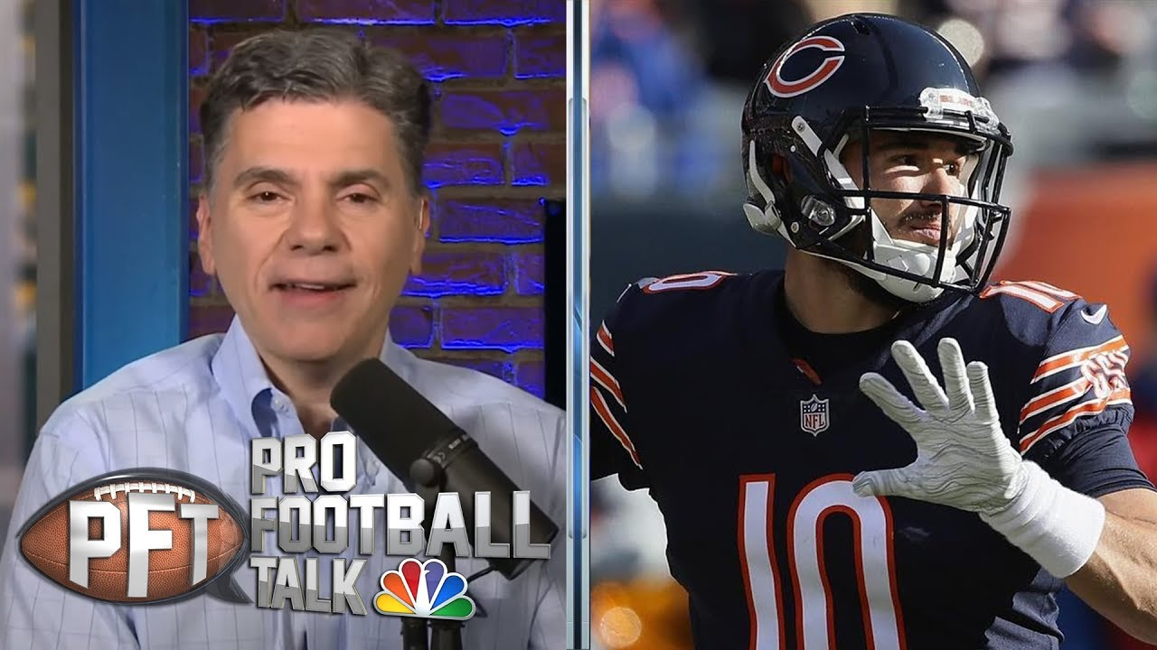 PFT Top 30 Storylines: Can Mitchell Trubisky elevate Bears? | Pro Football Talk | NBC Sports
