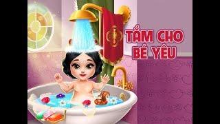 Hướng dẫn chơi game Tắm cho bé yêu - GameVui