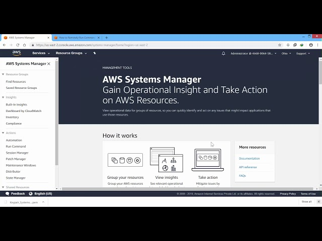 Session Manager Aws