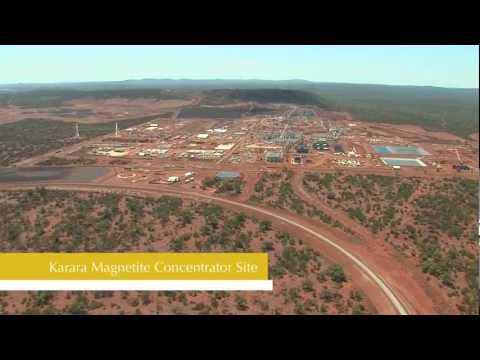 Karara Iron Ore Project Aerial Construction Update (as At 24 Febuary 2012)