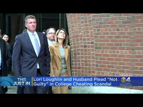 Lori Loughlin, Husband Plead Not Guilty In College Scandal