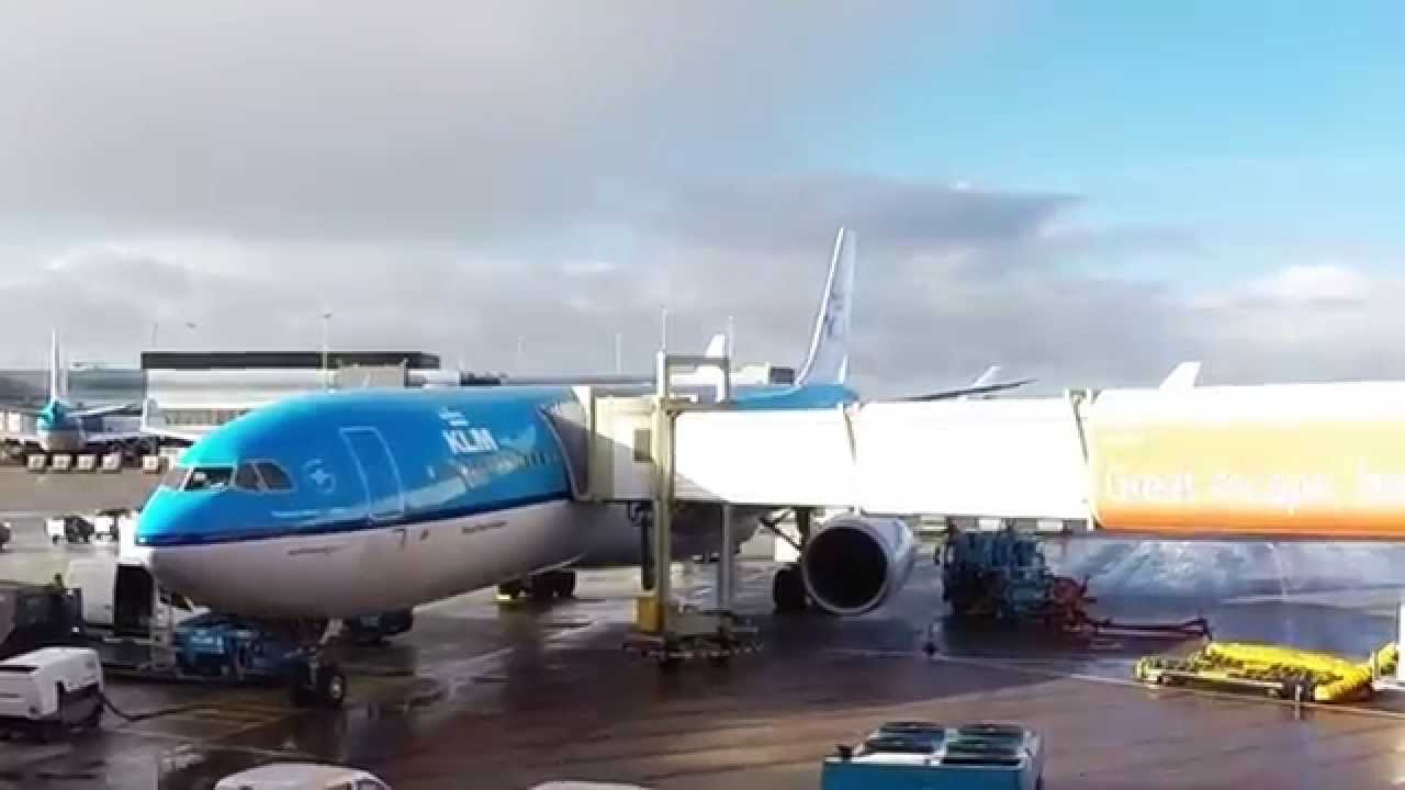Flight Report Airbus A330 300 Klm 0771 Amsterdam