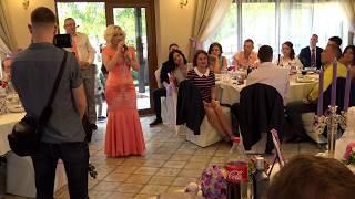 Поздравление мамы и авторская песня на свадьбе сына 08.06.2017