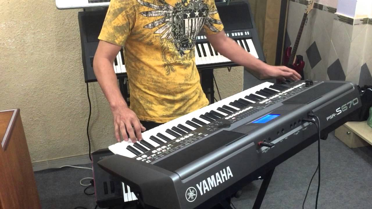 demo yamaha s670 by mla store youtube