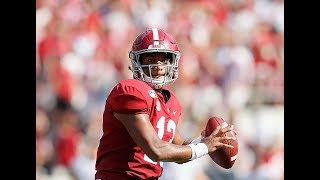 Tua Tagovailoa Made It Look Easy vs. New Mexico State | 227 Yards,  3 TDS In One Half