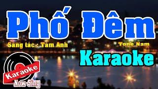 Phố Đêm [ Karaoke Beat Chuẩn cực hay ]