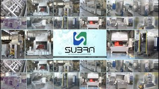 Subra Presents INDUSTRIAL PARTS WASHING MACHINES