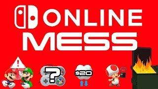 Nintendo Switch Online is Still A MESS!