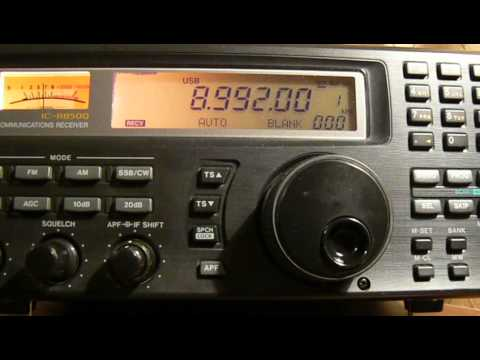 8992khz.High Frequency Global Communications System USA (HF-GCS).