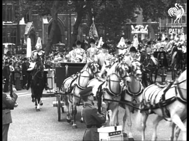 President of Chile Pays State Visit to the UK in 1965