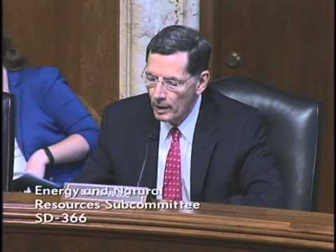 Senate Energy Subcommittee Holds Hearing on Four Barrasso Water Bills