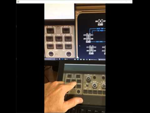Use IPAD touchscreen feature with Aerowinx PSX 747-400 - EICAS