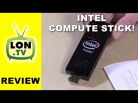 Intel Compute Stick Review - Full Windows PC on a HDMI stick! vs. MeegoPad free Download :popular-software.com