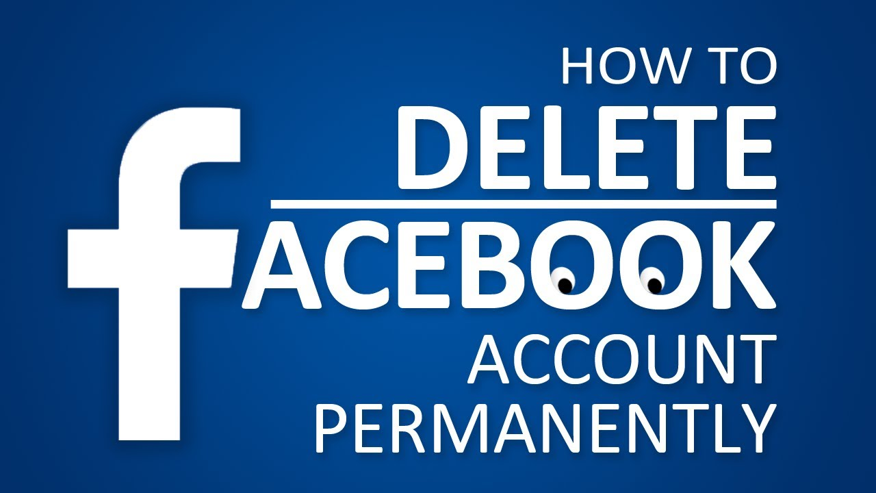 How to delete facebook account permanently 2017 youtube ccuart Image collections