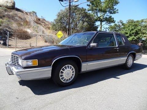 93 Cadillac Coupe De Ville Deville Last Year Coupé 4.9L V8 non Eldorado