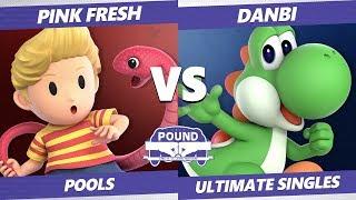 Pound 2019 SSBU - VGBC Pink Fresh (Lucas) VS NWA Danbi (Yoshi) Smash Ultimate Pools