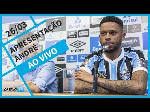 Apresentação André l GrêmioTV