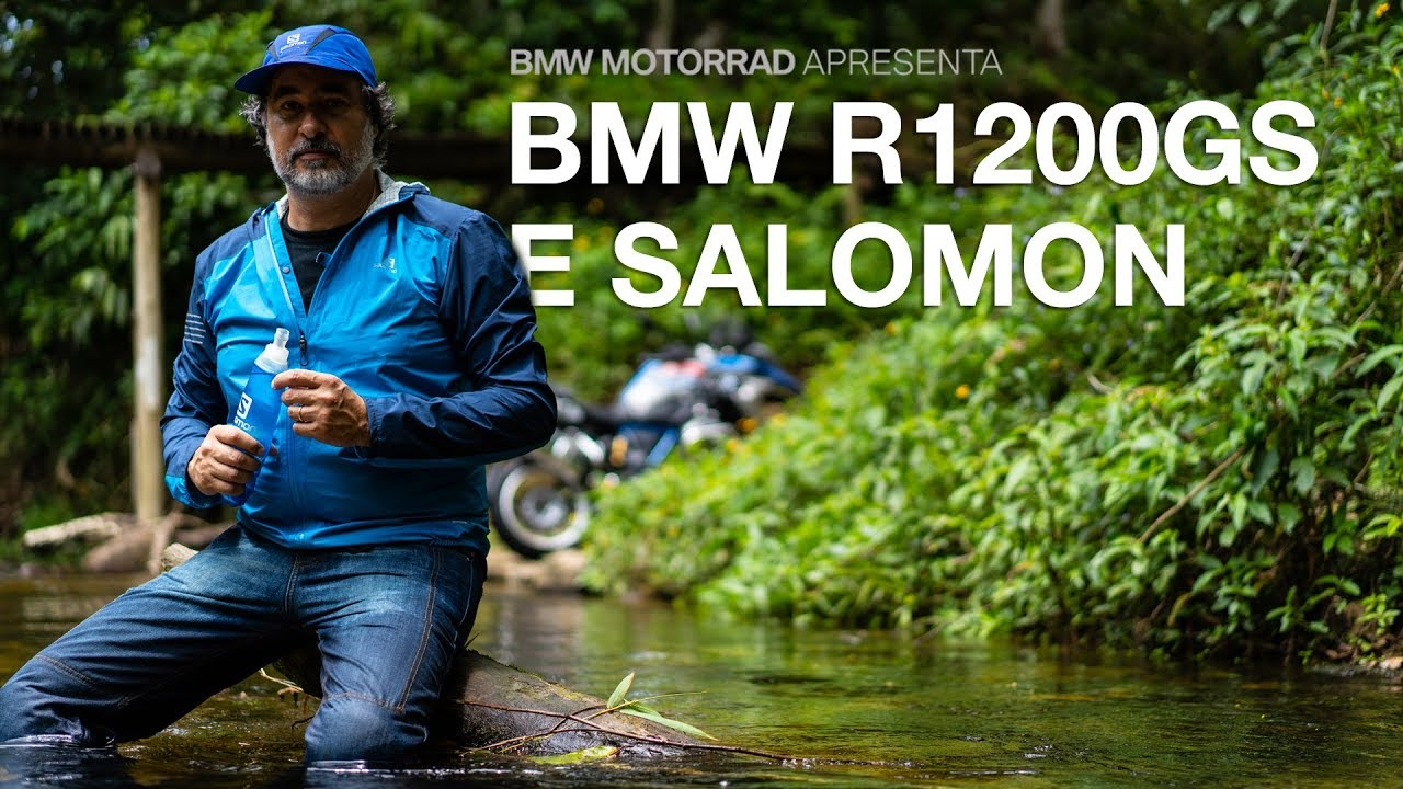 BMW R 1200 GS e Salomon