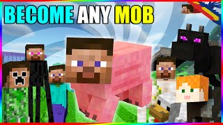 Become any mob in Minecraft 🔥
