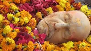 krishna das babaji maharaj k antim sanshkar