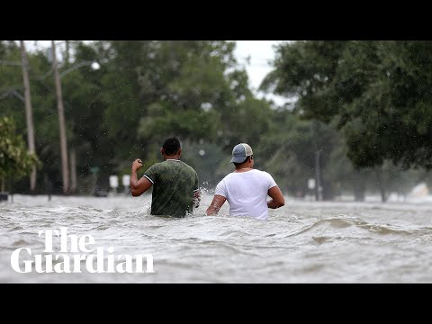 Storm Barry batters parts of Louisiana