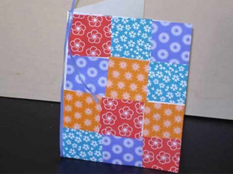 Manualidades de papel tarjeta colcha con pedazos de papeles sobrantes manualidadesconninos - Que manualidades puedo hacer ...