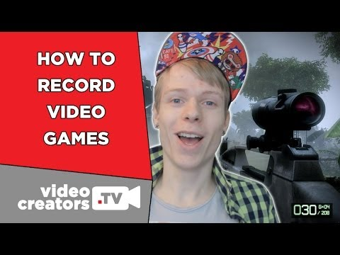 How To Record Video Games with Open Broadcaster Software (OBS)