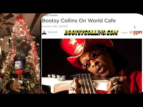 Bootsy December 5 2017 World Cafe interview
