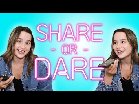 Annie LeBlanc Shares What's In Her Phone | SHARE OR DARE