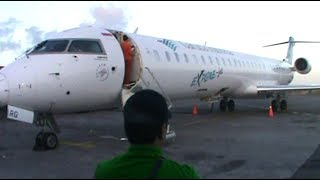 Flight Report : Garuda Indonesia CRJ1000 to Surabaya.