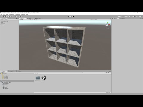 Unity Furniture Creator - Shelves test