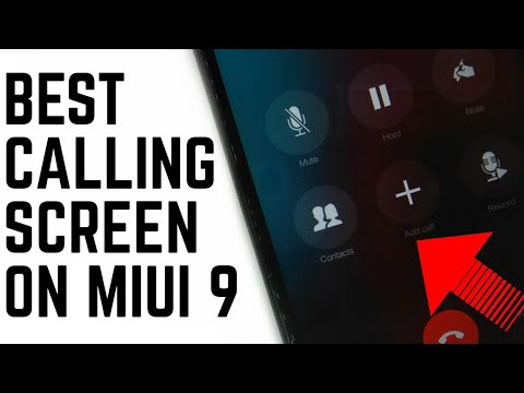 Best 3 Theme That Change Your Calling Screen On Miui 9!Redmi Note 4/Redmi 4