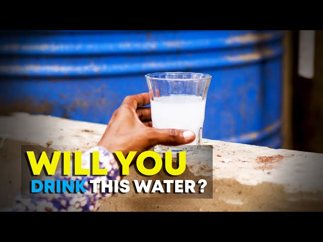 Karachiites Are Forced To Drink Polluted Water