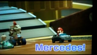 Mario kart 8 deluxe online with mercedes