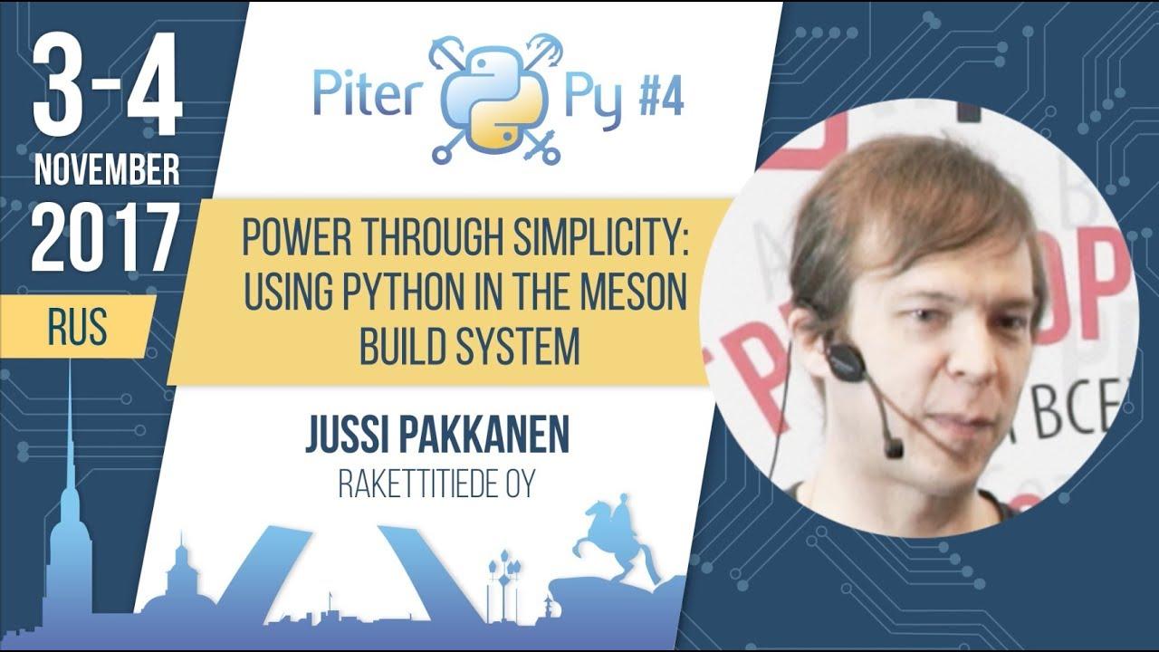 PiterPy 2019 / Jussi Pakkanen: