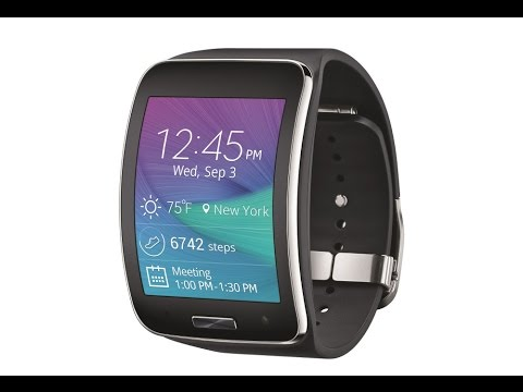 Samsung Gear S Smart Watch Verizon U.S. Release 2014 Unboxing and Full Review
