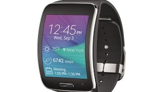 samsung gear s smart watch verizon u s release 2014 unboxing and full review