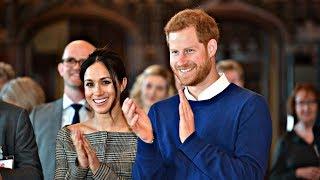 Принц Гарри и Меган Маркл отведали выпечки в замке Кардифф (новости)